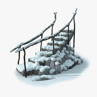 Stepladder Rock Snow