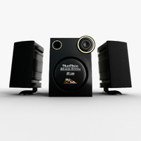 3d - stereo model