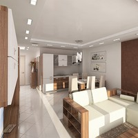 3d interior furniture