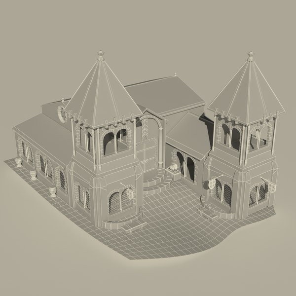 castle 3d model - HD Castle... by Jahnzaib