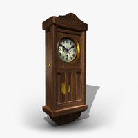 3d 3ds old clock