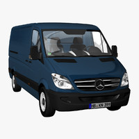 MB Sprinter Panel Van Long 2012