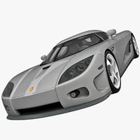 3d model super car koenigsegg ccx