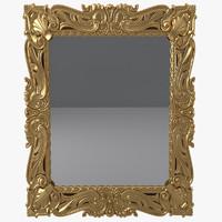 3d armando rho a934 wall mirror