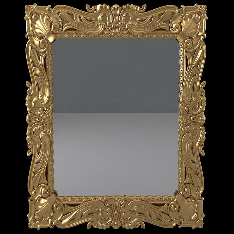 b Armando Rho A934 Baroque Wall Mirror carved luxury classic carving picture frame .jpg
