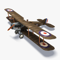Bristol F2 Low Poly