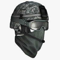 helmet soldier glasses max