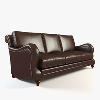 maya leather sofa