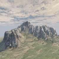 rocky mountain ready 3d model