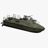 3d sweden patrol boat