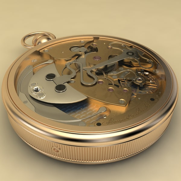 3d model breguet stopwatch vol 5 - Breguet Stopwatch Vol.5... by MilosJakubec
