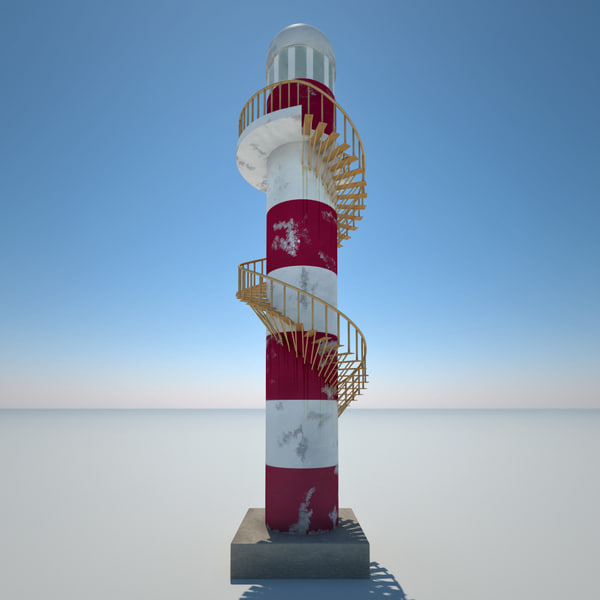 3d lighthouse 5 model - Lighthouse 5... by 3d_molier