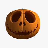3ds pumpkin jack lantern