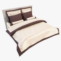 3d model of bedcloth bed cloth