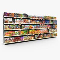 Grocery Shelves - Cereals