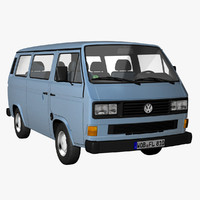 VW T3 Bus Facelift 1988