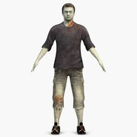 zombie man casual max