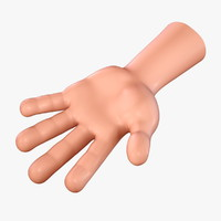 3ds max cartoon hand no:1 toon