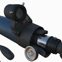 3dsmax celestron 70 az telescope