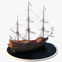 Elizabethan Galleon