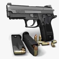 Sig Sauer P229 Dark Elite II 9mm