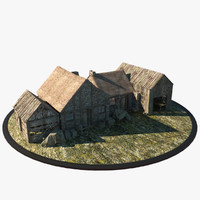 medieval houses max