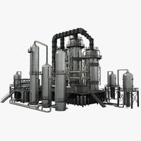 3d model refineries 1