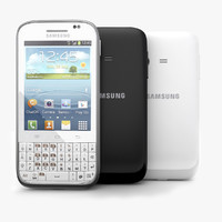 Samsung Galaxy Chat B5330 Android Smartphone White and Black