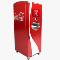 coca-cola freestyle machine 3d 3ds