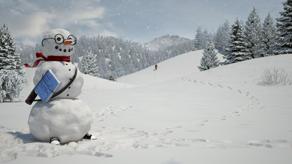 snowman snow 3d model - Snowman... by Matz models