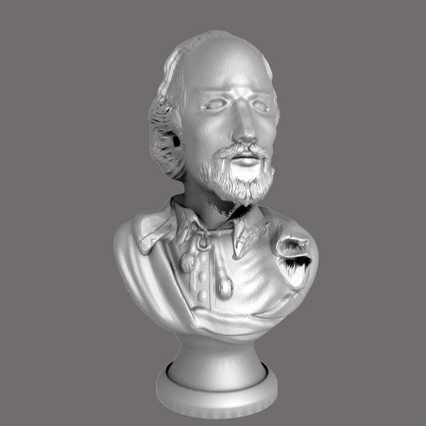 william shakespeare bust max - William Shakespeare Bust... by Interu2x