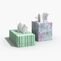 3ds max kleenex box