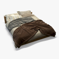 Photorealistic Bed 2