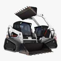 bobcat crawler 3d 3ds