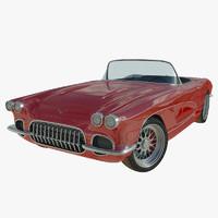 maya chevrolet corvette 1961