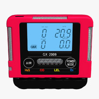 3d gas detector