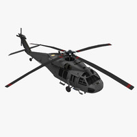 3ds mh60 helicopter