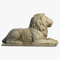 Stone Lion Sculpture 2