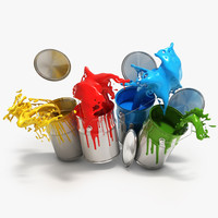 Tin of paint