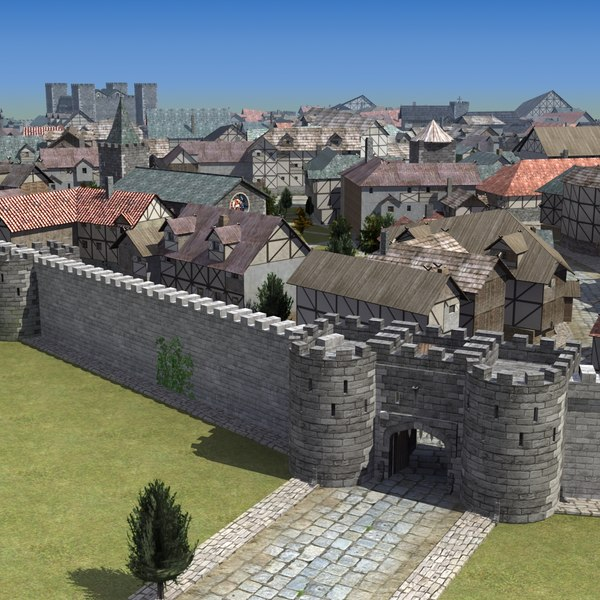 Medieval Town St01 LW