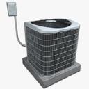 household ac unit 3D models