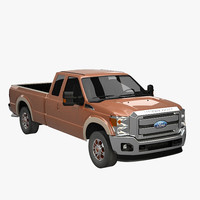 Ford Super Duty Super Cab LWB