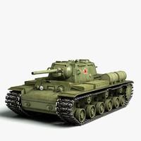 KV1 Soviet Tank