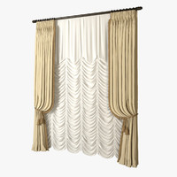 3ds max french blinds