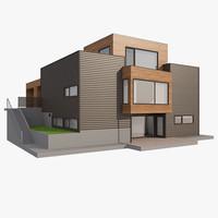 realistic house nova nb 3d max