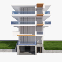 3d realistic house mh 006 model