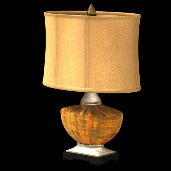 3d model classic table lamp - Classic Table Lamp... by Poornachandra