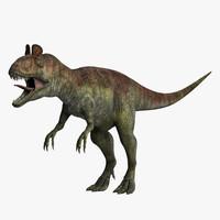 3d cryolophosaurus dinosaurs