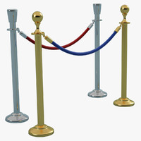 stanchion 3d 3ds