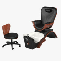 Maestro Pedicure Spa Chair Set